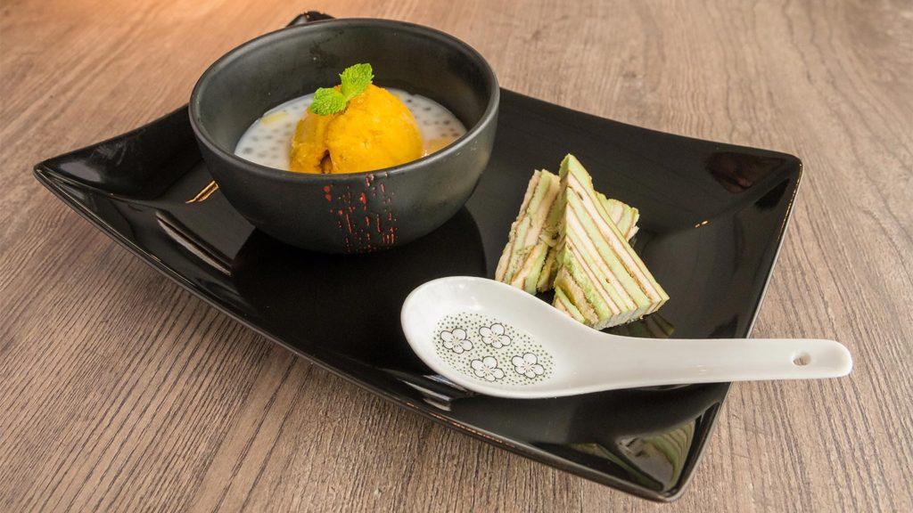 Mango Sorbet - Restaurant Jade Tilburg