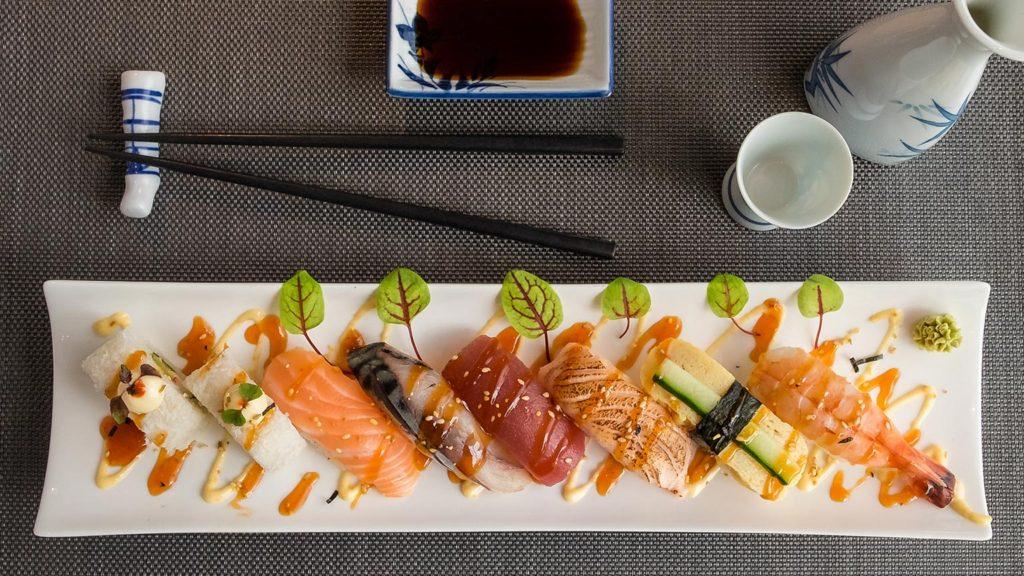 Sushi - Restaurant Jade Tilburg